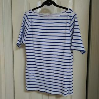 シマムラ(しまむら)のボーダーTシャツ(Tシャツ(半袖/袖なし))