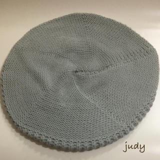 ムルーア(MURUA)のMURUA新品ベレー帽(ハンチング/ベレー帽)