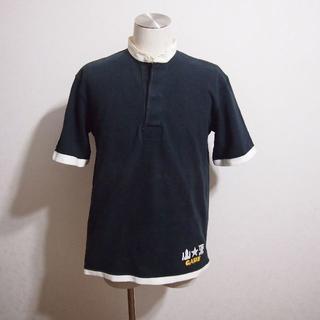 バーバリアン(Barbarian)のUSEDCLOTHING!バーバリアンBARBARIAN 別注半袖ラガーシャツ (スウェット)