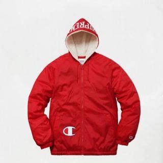 シュプリーム(Supreme)のL Champion Sherpa Lined Hooded Jacket(ダウンジャケット)