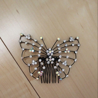 蝶々型髪飾り(ヘアピン)