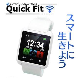 タッチスクリーン Smart Watch クイックフィット Quick Fit(腕時計(デジタル))