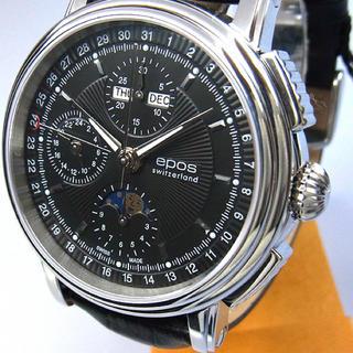 エポス(EPOS)の最終値下げ  スケルトン 自動巻き腕時計 メンズ EPOS-3393BK(腕時計(アナログ))