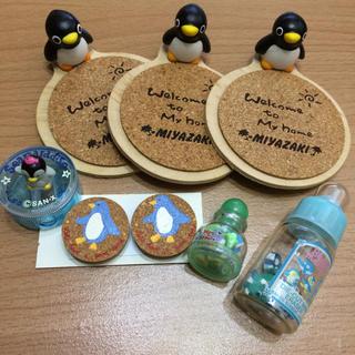 ペンギンのコースターとマグネット