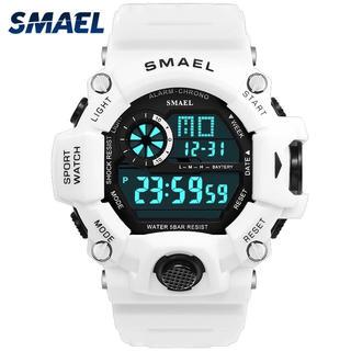 SMAEL クォーツデジタル ホワイト(腕時計(デジタル))