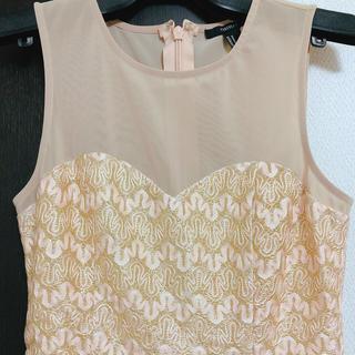フォーエバートゥエンティーワン(FOREVER 21)の超美品 結婚式ドレス(ミニドレス)