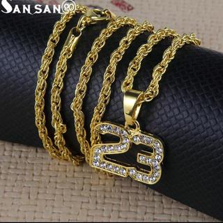 ナイキ(NIKE)のアメリカ  輸入 HIPHOP JORDAN GOLD 18k ネックレス(ネックレス)