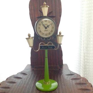 シチズン(CITIZEN)のCITIZEN 時計 置時計 目覚まし ヴィンテージ  ※(置時計)