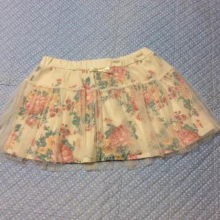 シマムラ(しまむら)の訳あり☆チュールスカート 100サイズ(スカート)