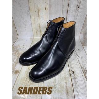 サンダース(SANDERS)のサンダース Sanders プレーン チャッカ UK8 26.5cm(ドレス/ビジネス)
