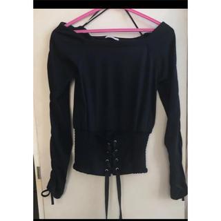 シマムラ(しまむら)のトップス オフショルダー(Tシャツ(半袖/袖なし))