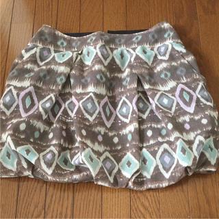 アクアガール(aquagirl)のoppure アクアガール  バルーンミニスカート Sサイズ(ミニスカート)