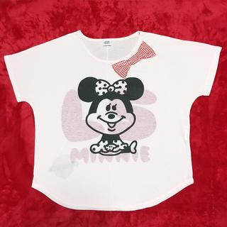 しまむら - 【しまむら】薄ピンク ディズニー ミニー Tシャツ