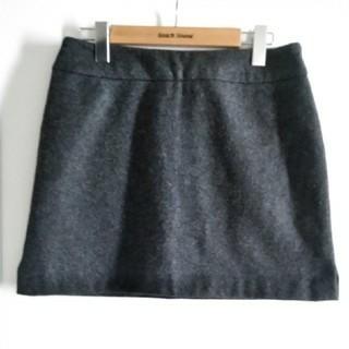 モルガン(MORGAN)の定価2万円 美品 フランス製品 モルガン 台形大人ミニスカート(ミニスカート)