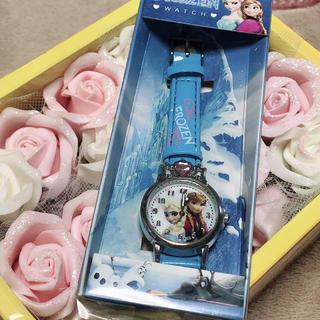 アナトユキノジョオウ(アナと雪の女王)のアナと雪の女王★アナとエルサのスノーフローズン腕時計(キャラクターグッズ)