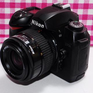 ニコン(Nikon)の⭐ドキドキの予感⭐Nikon D70s レンズキット・安心保証・豪華付属品♪(デジタル一眼)