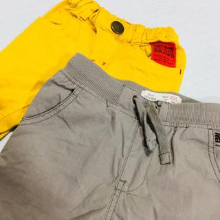 ザラ(ZARA)の男の子パンツ2枚組 サイズ80(パンツ)