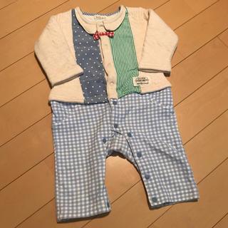 キッズズー(kid's zoo)のロンパース70cm kid's zoo 丸高衣料(ロンパース)
