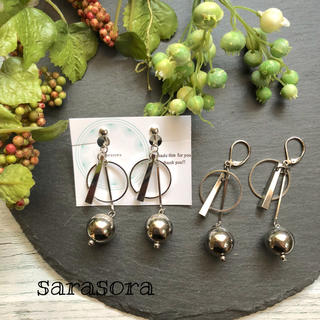 331 silver earrings ピアスORイヤリング(ピアス)