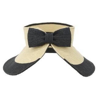 パメオポーズ(PAMEO POSE)の新品 PAMEO  POSE サンバイザー 麦わら帽子 水着 lilLilly(サンバイザー)