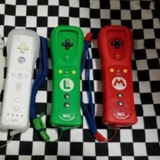 ウィー(Wii)のwiiリモコン  マリオルイージ(その他)