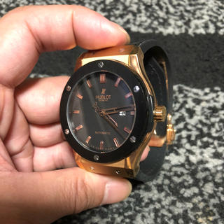 ウブロ(HUBLOT)のHUBLOT腕時計自動巻‼️美品(その他)
