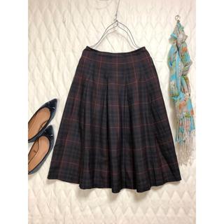 アデュートリステス(ADIEU TRISTESSE)のアデュートリステス ADIEU TRISTESSE スカート サイズ36  茶(ひざ丈スカート)