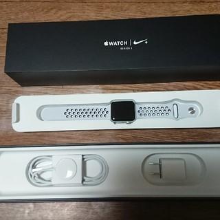 アップルウォッチ(Apple Watch)のApple Watch Series3 Nike+ GPSモデル(腕時計(デジタル))