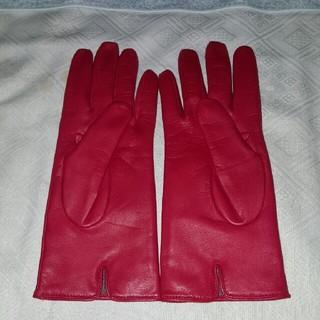 711f517d16fc コーチ(COACH) レッド 手袋(レディース)の通販 15点 | コーチの ...