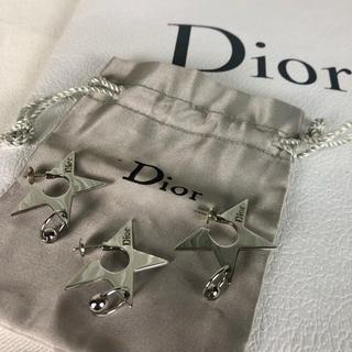Christian Dior - DIOR ピアス 星 トリプル