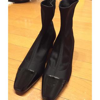 ザラ(ZARA)のZARA ストレッチアンクル丈ブーツ(ブーツ)