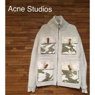 アクネ(ACNE)のAcne Studios ジャケット(ニットコート)