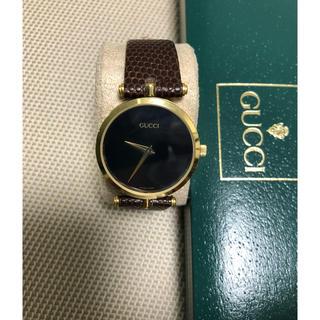 グッチ(Gucci)のグッチ GUCCI オールドグッチ  男女兼用腕時計 電池新品(腕時計(アナログ))