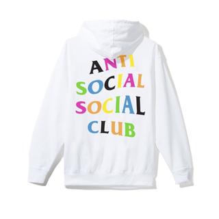 アンチ(ANTI)のASSC アンチソーシャルソーシャルクラブ ジップパーカー M レインボー(パーカー)