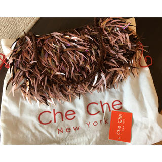 チチニューヨーク(Che Che New York)のcheche  パーティバッグ(ハンドバッグ)