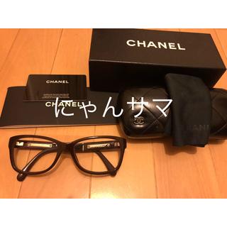 シャネル(CHANEL)のCHANELのメガネ(サングラス/メガネ)
