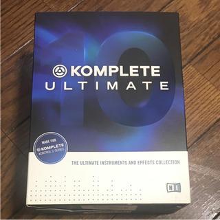 Ni komplete 10 ultimate ライセンス譲渡販売(ソフトウェア音源)