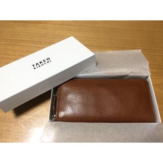 タケオキクチ(TAKEO KIKUCHI)のTAKEO KIKUCHI ラウンドファスナー長財布(長財布)