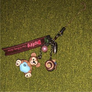 ディズニー(Disney)のDuffy ♡ ストラップ(ストラップ/イヤホンジャック)