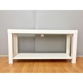 IKEA - ◆IKEA LACKテレビ台◆※日曜手渡し限定 棚 イケア ホワイト/白 完成品
