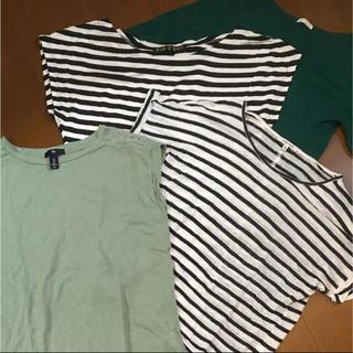 GU - Tシャツ等3枚組合わせ