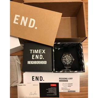 ネイバーフッド(NEIGHBORHOOD)のEND. TIMEX NEIGHBORHOOD 18004 ネイバーフッド (腕時計(アナログ))