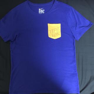 ナイキ(NIKE)の【値下げ中】NIKE Tシャツ ブルー(Tシャツ/カットソー(半袖/袖なし))