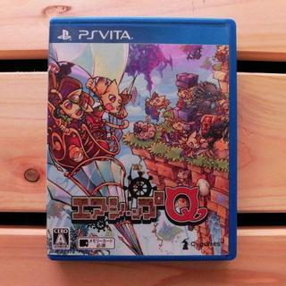 プレイステーションヴィータ(PlayStation Vita)の● PS Vita●定価2500円*エアシップQ●(携帯用ゲームソフト)