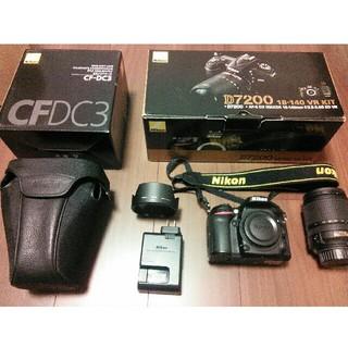 ニコン(Nikon)のD7200 18-140 VR レンズキット  純正ソフトケース付き(デジタル一眼)