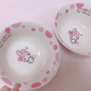 サンリオ(サンリオ)のマイメロディ♡丼ぶり食器♡2つセット(食器)