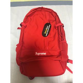 シュプリーム(Supreme)のSupreme backpack red(バッグパック/リュック)