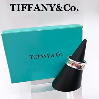 ティファニー(Tiffany & Co.)の美品 ティファニー SV925 ナローリング 1837 指輪 10~11号相当(リング(指輪))