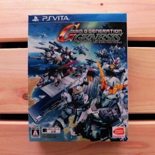 プレイステーションヴィータ(PlayStation Vita)の PS Vita●定価7600円*SDガンダム ジージェネレーション ジェネシス(携帯用ゲームソフト)