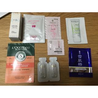 ロクシタン(L'OCCITANE)の化粧品サンプル詰め合わせ ④(化粧水 / ローション)